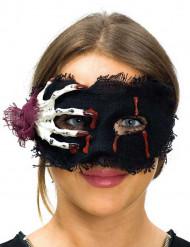 Loup tissu avec main squelette femme Halloween