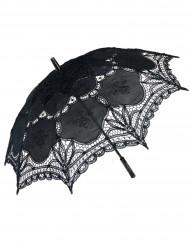 Ombrelle en dentelle noire luxe
