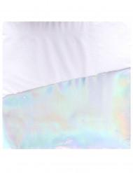 16 Serviettes en papier iridescentes 33 x 33 cm