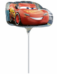Petit ballon aluminium Cars ™ gonflé