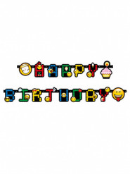 Guirlande lettres Smiley Emoticons™ 193 cm