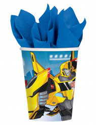 8 Gobelets en carton Transformers Robots in Disguise ™