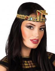 Bandeau égyptien avec faux joyaux adulte