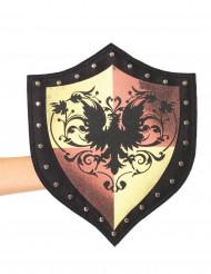 Bouclier chevalier médiéval femme