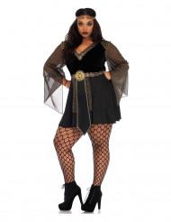 Déguisement gladiatrice noir sexy femme
