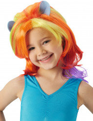 Perruque Rainbow Dash My Little Pony™ fille