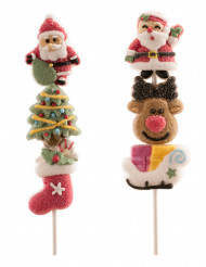 Brochette de marshmallow Noël aléatoire