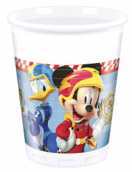 8 Gobelets en plastique 200ml Mickey & Donald Racing ™