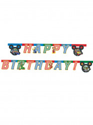 Guirlande Happy Birthday Mickey Racing™ 2 mètres