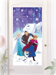 Décoration de porte La Reine des Neiges™ 75 x 150 cm