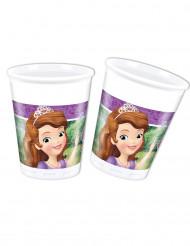 8 Gobelets en plastique 20cl Princesse Sofia et la licorne ™
