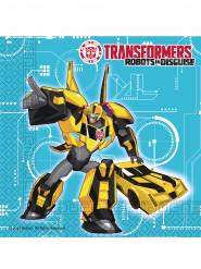 20 Serviettes en papier 33x33cm Transformers RID ™