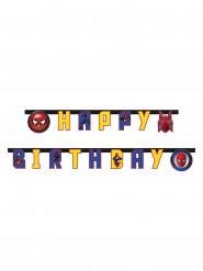 Guirlande Happy Birthday Spiderman Homecoming™ 2 mètres