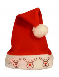 Chapeau renne lumineux adulte Noël