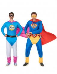 Déguisements duo Super Connard et Super Buveur