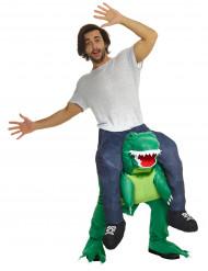 Déguisement homme à dos de dinosaure adulte Morphsuits™