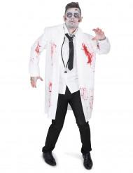 Déguisement docteur zombifié homme