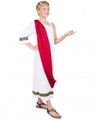 Déguisement impératrice Romaine fille