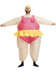 Déguisement gonflable ballerine adulte