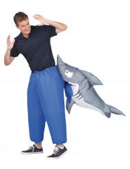 Déguisement gonflable requin adulte