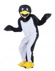 Mascotte pingouin adulte