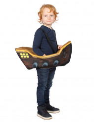 Déguisement pirate dans son bateau garçon