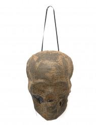 Décoration crâne de momie lumineux