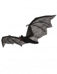 Chauve-souris à suspendre noire 54 x 26 cm Halloween