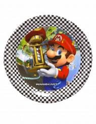 8 Petites assiettes en carton Super Mario™