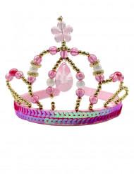 Couronne princesse féerique rose fille