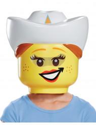 Masque cowgirl LEGO® enfants