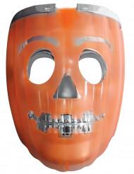 Masque 2 en 1 citrouille lumimeux lanterne adulte halloween