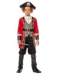 Déguisement capitaine pirate luxe garçon