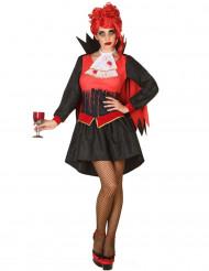 Déguisement vampire ensanglanté femme Halloween