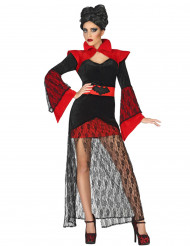 Déguisement vampire en dentelle femme Halloween