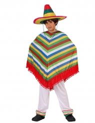 Déguisement mexicain coloré garçon