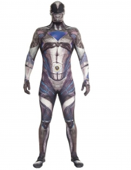 Déguisement combinaison noire Power Rangers™ deluxe adulte Morphsuits™