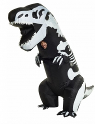 Déguisement gonflable squelette T-rex adulte Morphsuits™