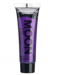 Gel à paillettes violettes 12 ml Moonglow ©