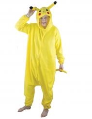 Déguisement kigurumi rongeur jaune adulte