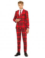 Costume Mr. Tartan rouge écossais adolescent Opposuits™