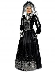 Déguisement mariée noire femme Halloween