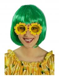 Lunettes fleurs soleil adulte
