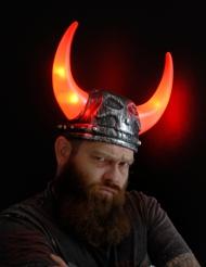 Casque viking lumineux adulte