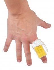 Bague chope de bière Fête de la bière