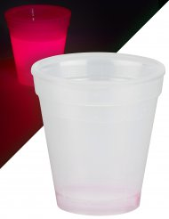 Verre lumineux rouge 250 ml