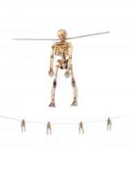 Guirlande squelettes Halloween