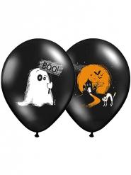 6 Balllons Halloween Boo