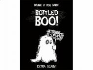 10 Décorations adhésives pour bouteille Fantôme Halloween