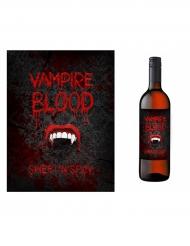 10 Etiquettes pour bouteille Halloween Vampire